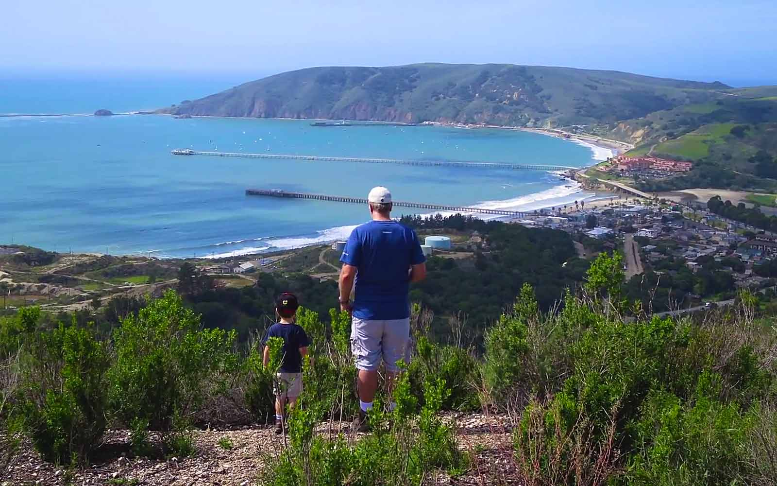 Avila Beach hiking -- health insurance trails article